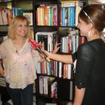 so spisovateľkou Evitou